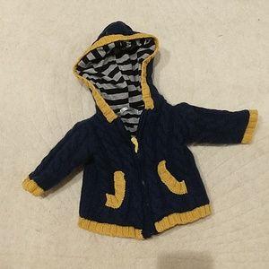 Baby Boden Navy Wool Jacket